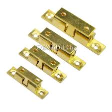 door latch types. Cabinet Door Latch New Brass Cupboard Drawer Double Ball Catch Touch Beads Lock Spring Clip Types