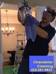 a precious chandelier