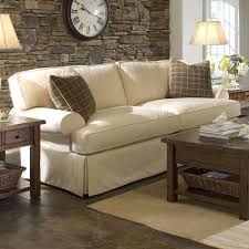 Slipcovers Living Room Chairs Sofa With Slipcover And Blend Down Cushions By Klaussner Wolf
