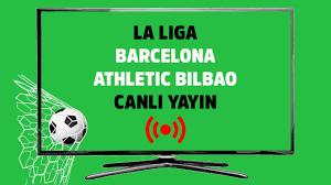 Barcelona Athletic Bilbao smart spor kesintisiz şifresiz canlı maç izle -  Tv100 Spor