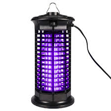 Industrial Bug Light Wapike Powerful Electric Bug Zapper Mosquito Trap With Uv Light Indoor Outdoor Electronic Insect Killer For Residential Commercial And
