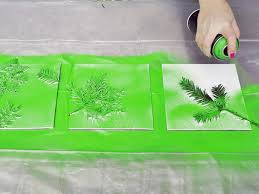 Image result for leaf spray paint art