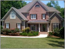 exterior paint colors that go with brickExterior Paint Colors With Brick Pictures  kbdphoto