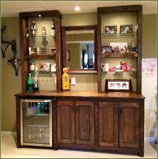 Living Room Bar Cabinet Home Design Home Bar Cabinet With Refrigerator Subway Tile
