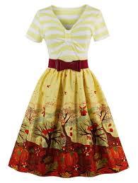 Pin Up Dress Pattern Unique Design