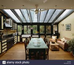 Kitchen Diner Extension Interiors Modern Kitchens Extensions Stock Photos Interiors