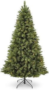 Pre Lit Christmas Tree With Colored And White Lights Noma 7 Foot Pre Lit Christmas Tree With Lights Henry Fir 400 Color Changing Led Bulbs Clear Warm White And Multicolor Lights 1000 Branch Tips