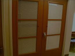 ie blinds between glass blind s wood door