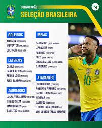 قائمة منتخب #البرازيل لمباريات... - هوا سبورت - Hawa sport