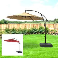 offset patio umbrella replacement canopy cantilever