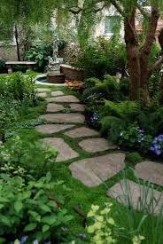 decorative garden stepping stones. Enchanting-stepping-stones Decorative Garden Stepping Stones
