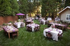 purple and white themed beauteous garden wedding decor inspiration