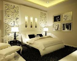 romantic master bedroom decorating ideas with creative wall art