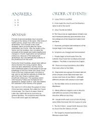 seminary students apostasy and restoration worksheet answers