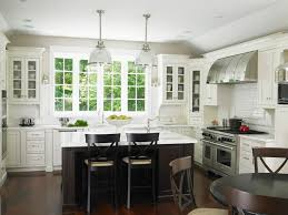 Modern Chic Kitchen Designs Modern Chic Glam Kitchen With Large Windows By The Sink Less