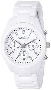 Buy <b>Caravelle New York</b> Analog Champagne Dial Women's Watch ...