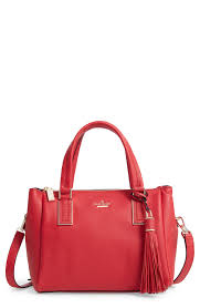 red leather tote bags kate spade new york kingston drive small alena leather satchel