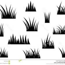 tall grass silhouette.  Tall Simple Black Vector Grass Silhouette Drawing Cartoon Design Element White  Background Image To Tall