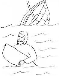 Apostle Paul Shipwrecked Coloring Page Color Bros