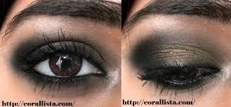 tutorial intense bronze smokey eye makeup modern apsara look