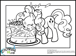 coloring pages little pony beautiful my little pony pinkie pie coloring pages getcoloringpages com