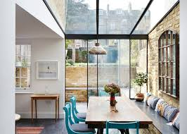 architecture houses glass. Fine Architecture Mile End House Extension By HT With Architecture Houses Glass