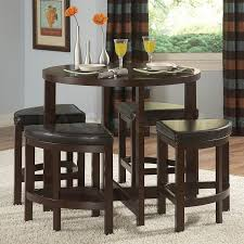 gracelove dinette sets for small es pub table set cool bar and