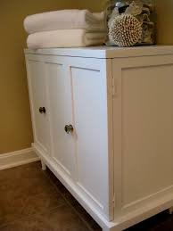 White Bathroom Cupboard Painting Bathroom Cabinets With Chalk Paint Hollywood Hills