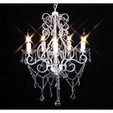 royal crystal design pendant light living room bedroom chandelier with 5 flames