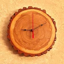 designs rustic reclaimed wood wall clock creative lovely rustic wood clock