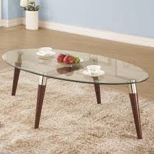 natalia brown glass coffee table