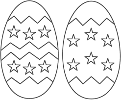 Easter Egg Printable Coloring Pages Hd Easter Images