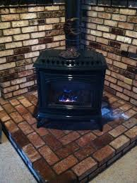 free standing propane fireplace. For Sale: Newer Green Waterford Emerald Freestanding Propane Gas Stove - Free Standing Fireplace R