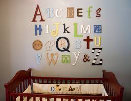 breakthrough alphabet letters wall decor wooden set nursery fresh decorative letters for wall