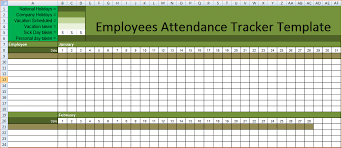 7+ employee attendance tracker | Procedure Template Sample