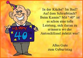 40 Geburtstag Spruch Lustig Mann