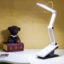 Компактна светодиодна лампа с щипка. Visoko Kachestvo Reguliruema Svetlina Sgvaema Led Nastolna Lampa Klip Nastolna Lampa Za Chetene Led Avarien Svetlina Vtreshno Osvetlenie V Kategoriya Lampi I Lampioni Mall First News