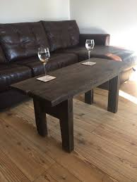 used reclaimed scaffold plank rustic coffee table in biggleswade for 50 00 shpock
