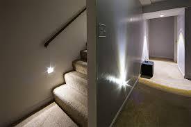 stair lighting fixtures. Image Of: Basement Stair Lighting Ideas LED Fixtures B