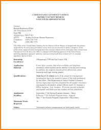 Sample Cover Letter For Volunteer Work In Schools Adriangatton Com