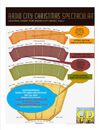 Radio City Christmas Show Seating Chart Pin By Nancy Pitrone On Holiday Christmas Radio City