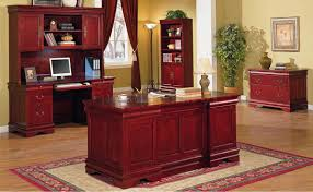 wood home office desks. Solid Cherry Classic Office Furniture Desk And Storage Wood Home Desks D