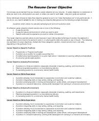 Objective Examples For Resumes Resume Introduction Examples Professional Brick Red Resume 80