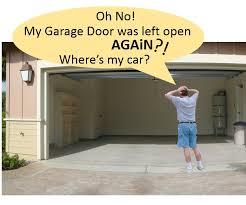 the garage doorAutomatic Garage Door OpenClosed Checker 12 Steps