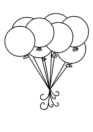 balloon coloring pages 9 preschool