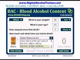 Bac Calculator How To Use This Bac Calculator At Digitalalcoholtesters Net