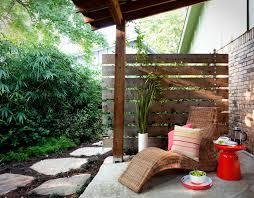 modren patio privacy fence for apartment patio designs regarding 19 f