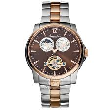 kenneth cole round the clock kc3776 men s chronograph date moon kenneth cole round the clock kc3776 men s chronograph date moon phase watch >