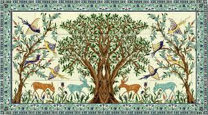 ceramic tile art tree. Modren Tree The Olive Tree Ceramic Tile Mural Of Jerusalem  Pictify Your Social Art  Network To Art S