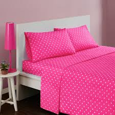 Enjoy free shipping on most stuff, even big stuff. Buy 3 Piece Girls Polka Dot Dark Pink Twin Deep Pocket Sheet Set Hot Pink Solid Color All Over Dot Design Circles Teen Bedding Kids Bedroom Bold Colorful Fun Contemporary Modern Percale